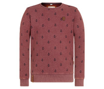 Sweatshirt 'Rise Of An Enemy' rot