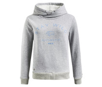 Sweatshirt 'rebecca' blau / grau