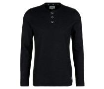 Shirt schwarzmeliert