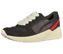 Sneaker kobaltblau / rot / schwarz