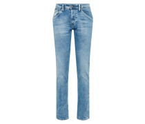 Jeans 'Track' blue denim