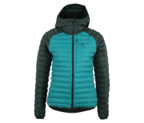 Sport-Jacke 'Essens Mimic Hood Women' grün