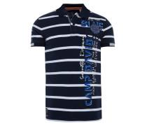 Poloshirt blau / navy / weiß