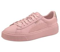 Sneaker 'Basket Platform Eu' rosé