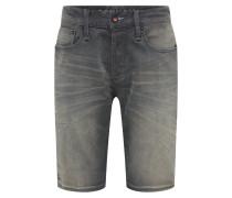 Jeansshorts 'razor' grey denim