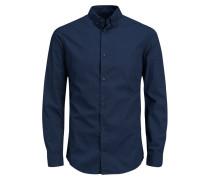 Formelles Langarmhemd blau