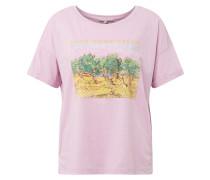 T-Shirt pastelllila / mischfarben