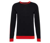 Pullover 'colly 407120' rot / schwarz