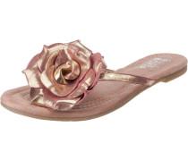 Zehentrenner rosegold