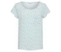 Shirt hellblau / weiß
