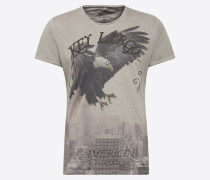 T-Shirt 'MT Eagle round' grau
