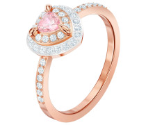Ring 'One 5470692' rosegold / rosa
