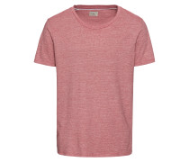 T-Shirt 'shhpete SS O-Neck Tee' rot