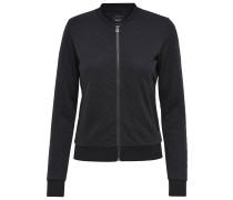 Sweater-Bomberjacke 'joyce' schwarz