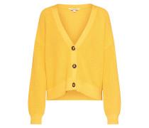 Strickjacke 'Janise' gelb