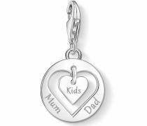 Charm-Einhänger 'Herz MUM DAD Kids 1460-001-21'