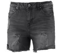 Jeansshorts black denim