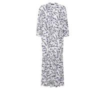 Kleid 'bree' blau / weiß