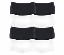 Panty schwarz / weiß
