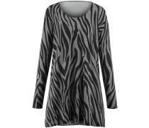 Pullover hellgrau / schwarz