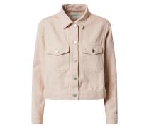 Jacke 'slfelli LS Light Pink Denim Jacket W'