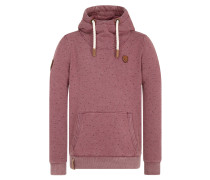 Hoody 'A child born in hell' bordeaux