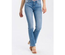 Jeans 'Lauren' black denim