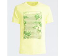 T-Shirt gelb / grün