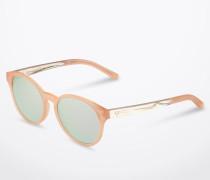 Sonnenbrille 'Leopold' mit -transparentem Gestell