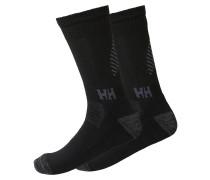 'Lifa Merino 2' Socken schwarz