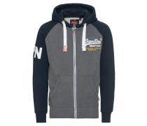 Sweatjacke 'premium Goods Raglan Ziphood'