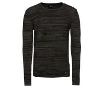 Pullover 'Struan' brokat / schwarz