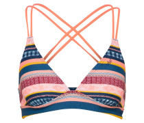 Bikinioberteil blau / orange