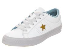 Sneaker 'One Star Ox' opal / gold / weiß