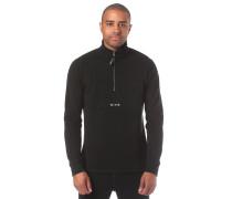 'Rixon Mock' Sweatshirt schwarz