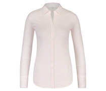 Bluse hellpink / weiß