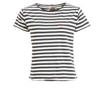 Shirt Yaffa grau / weiß
