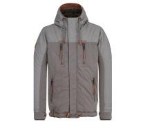 Jacket 'Dule Savic' grau / taupe