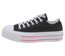 Sneaker 'Chuck Taylor All Star Lift Ox Love Fearlessly'