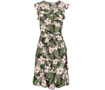 Kleid 'Emery' tanne / hellgrün / rosa