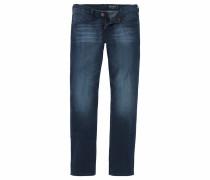Slim-fit-Jeans 'Larston' dunkelblau