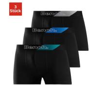 . Boxer (3 Stück) schwarz