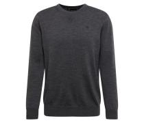 Pullover 'Core r knit l\s' dunkelgrau