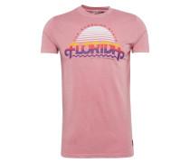 T-Shirt 'flo' mischfarben / altrosa