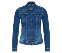 Jeansjacke 'Thrift' blue denim