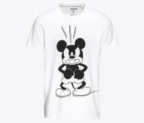 Shirt 'Albert' schwarz / weiß