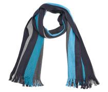 Wollmix-Schal im Streifendesign