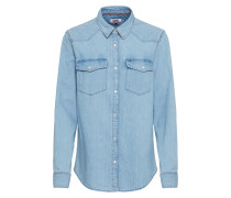 Jeansbluse 'western Denim Shirt'