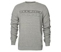 Sweater 'Wave' grau / dunkelgrau
