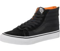 'Sk8-Hi Slim Zip' Sneakers orange / schwarz